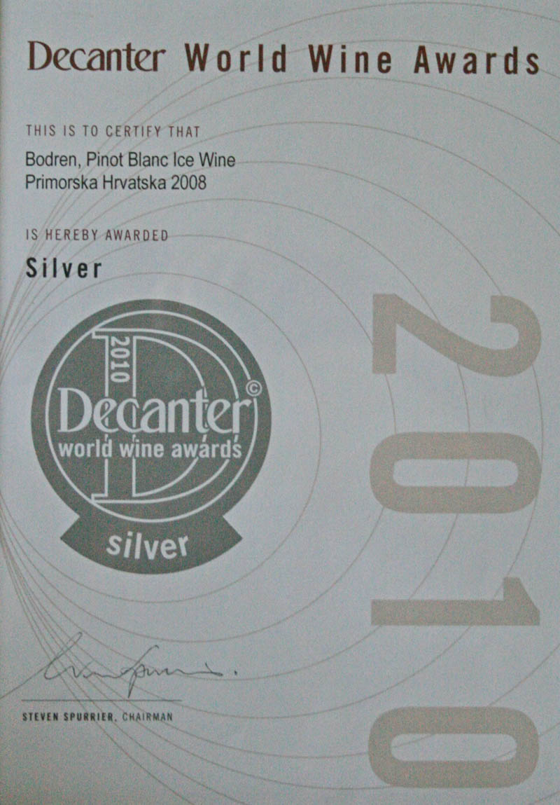 2010. Decanter World Wine Awards, London